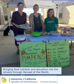 Nutrition Education - Harvest of the Month